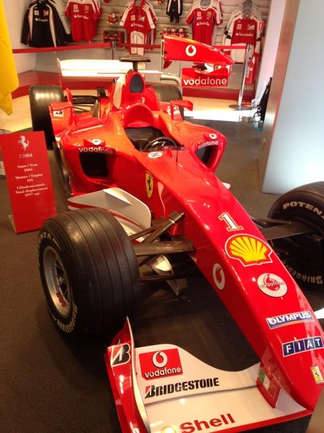 Real F1 Ferrari